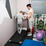 ćwiczenia kondycji na bieżni